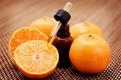 Mandarin essential oil for hair