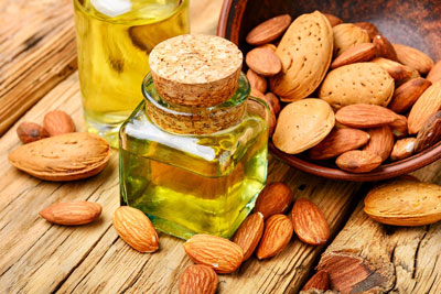 Useful properties of almond oil
