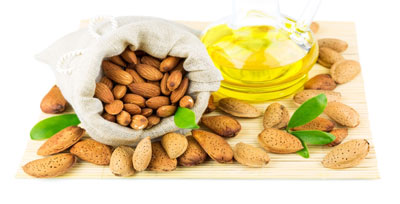 Almond oil perfectly softens the skin of any type